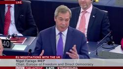 Farage in EU Parliament