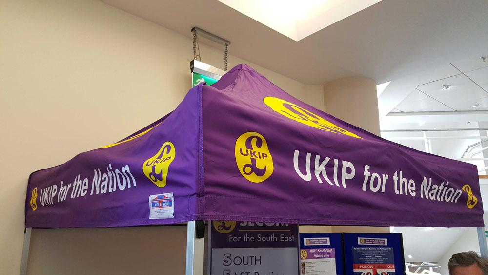 UKIP gazebo