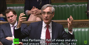 John Redwood in the House of Commons