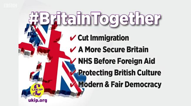 UKIP Party Election Broadcast frame