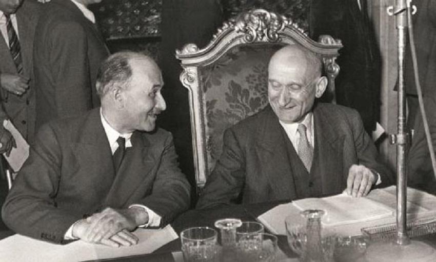 Monnet and Schumann